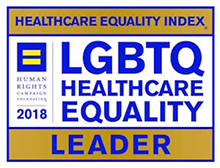 Healthcare Equality Index award