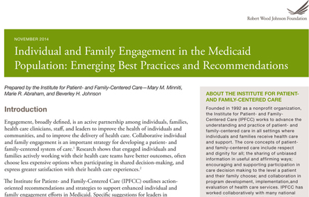 Individual and Family Engagement paper