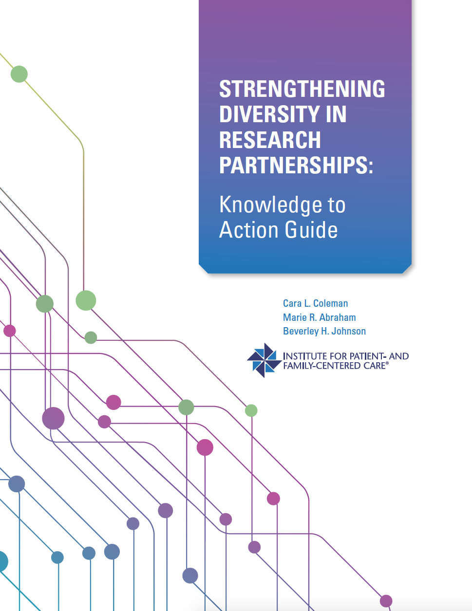 cover of Strengthening Diversity in Research Partnerships: Knowledge to Action Guide