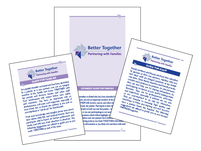 Better Together toolkit materials