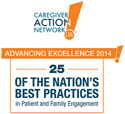 Caregiver Action Network's 25 of the Nation's Best Practices in Patient and Family Engagement