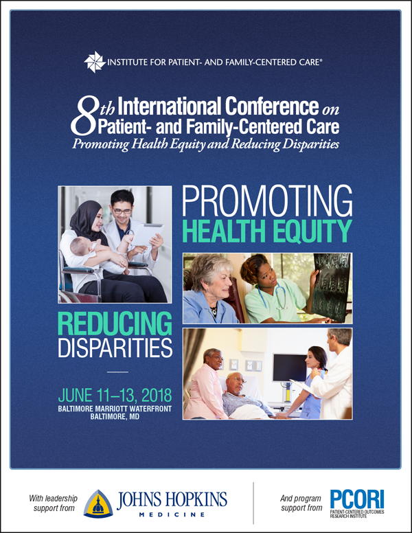Brochure for 8th International Conference on Patient- and Family-Centered Care