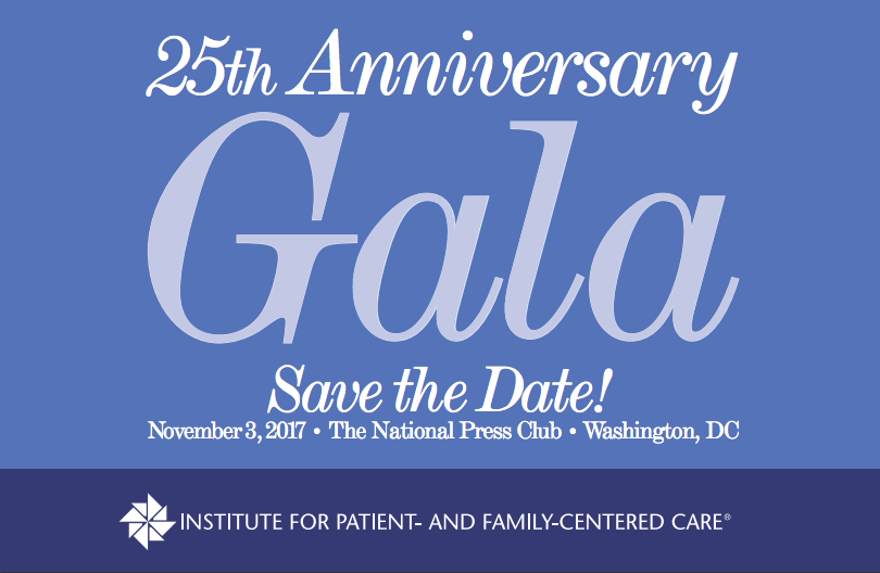 25th Anniverisary Gala - Save the Date - November 3, 2017