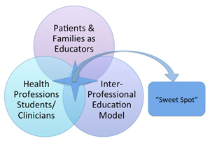 Interprofessional Education Sweet Spot