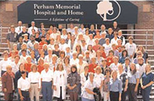Staff at Perham Memorial Hospital and Home