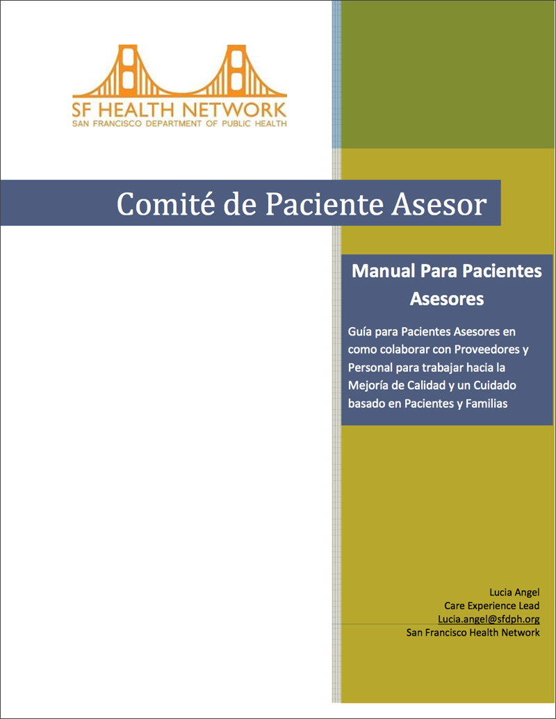 SFHN Spanish Guidebook cover